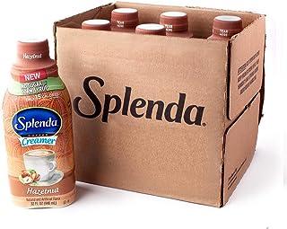 SPLENDA Sugar Free, Low Calorie Hazelnut Coffee Creamer. Pack of 6 (32 fl oz Bottles)