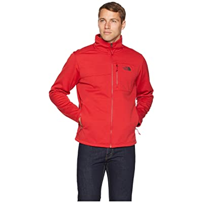 The North Face Apex Risor Jacket (Rage Red Heather/Rage Red Heather) Men