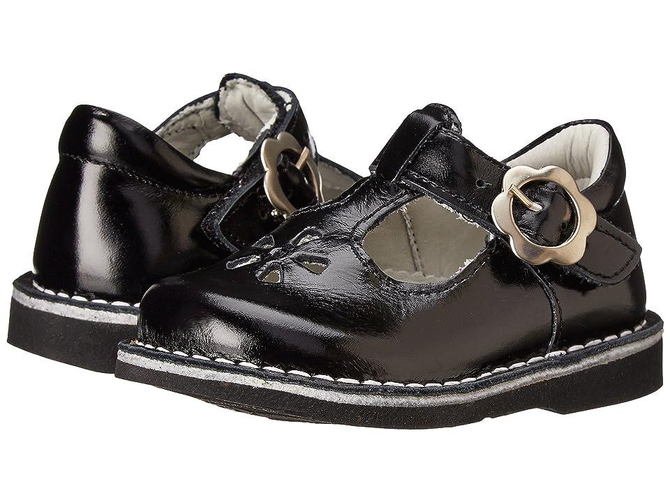 Kid Express Molly (Toddler/Little Kid/Big Kid) (Black Burnished) Girls Shoes