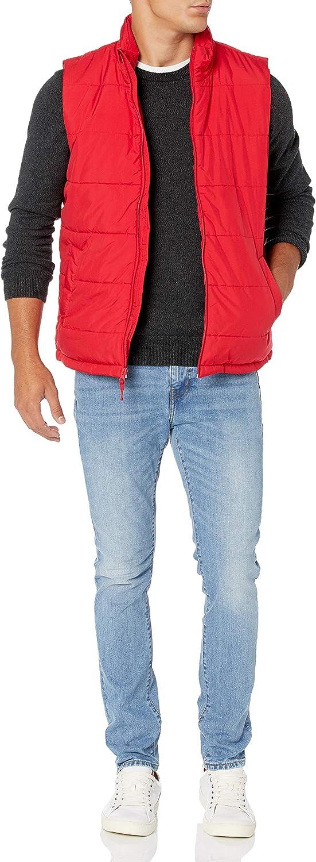 Essentials Mens Heavy-Weight Puffer Vest