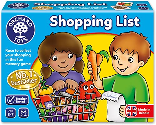 Orchard Toys OC003  - Shopping List Game product image