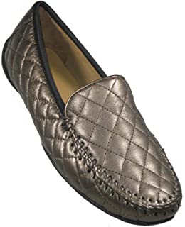 Women's 'Quana' Bronze Quilted Leather Moccasin