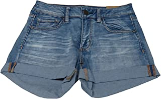 Outfitters Womens Midi Denim Shorts, 8