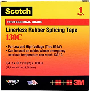3m linerless rubber splicing tape 130c