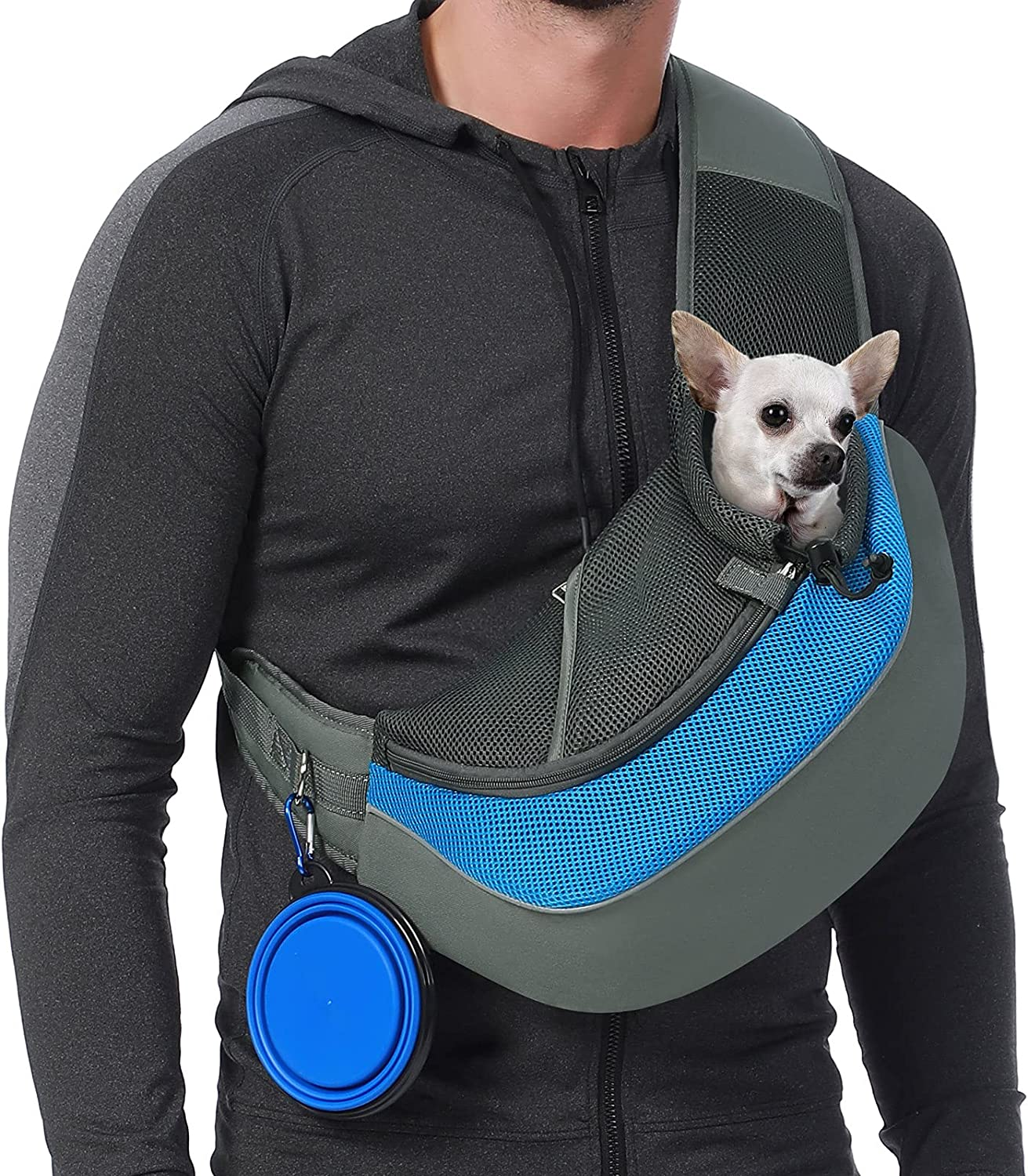 Sucipi Pet Dog Sling Carrier Breathable OFFer Mesh Tra and Bottom Hard Inventory cleanup selling sale