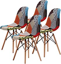 La Bella Replica Eames DSW Dining Chair - Multi-Colour X4