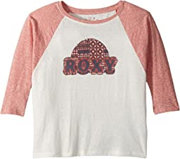 Roxy Kids - Dream Too Much Roxy Sunset Tee (Big Kids)
