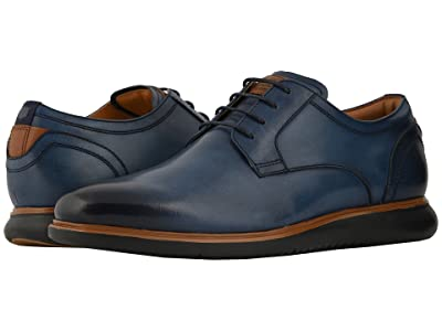 Florsheim Fuel Plain Toe Oxford (Navy/Black Sole) Men
