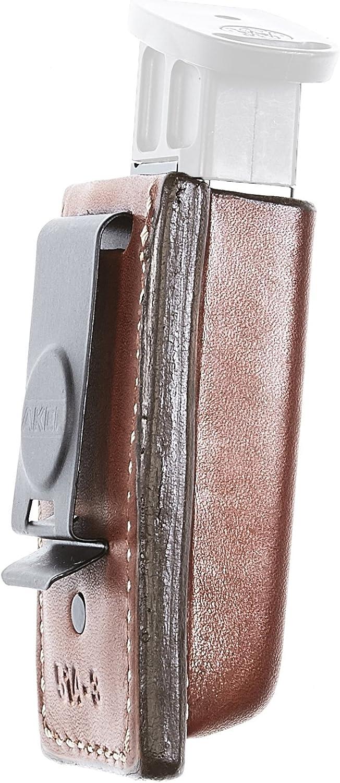 Esquire Logo fermoir clé Sac 3961-10 Nappa Cuir Noir