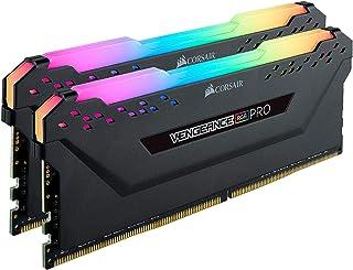 Corsair Vengeance RGB Pro - Memoria de sobremesa C16 DDR4 3200 (PC4-25600) C16, Color Negro