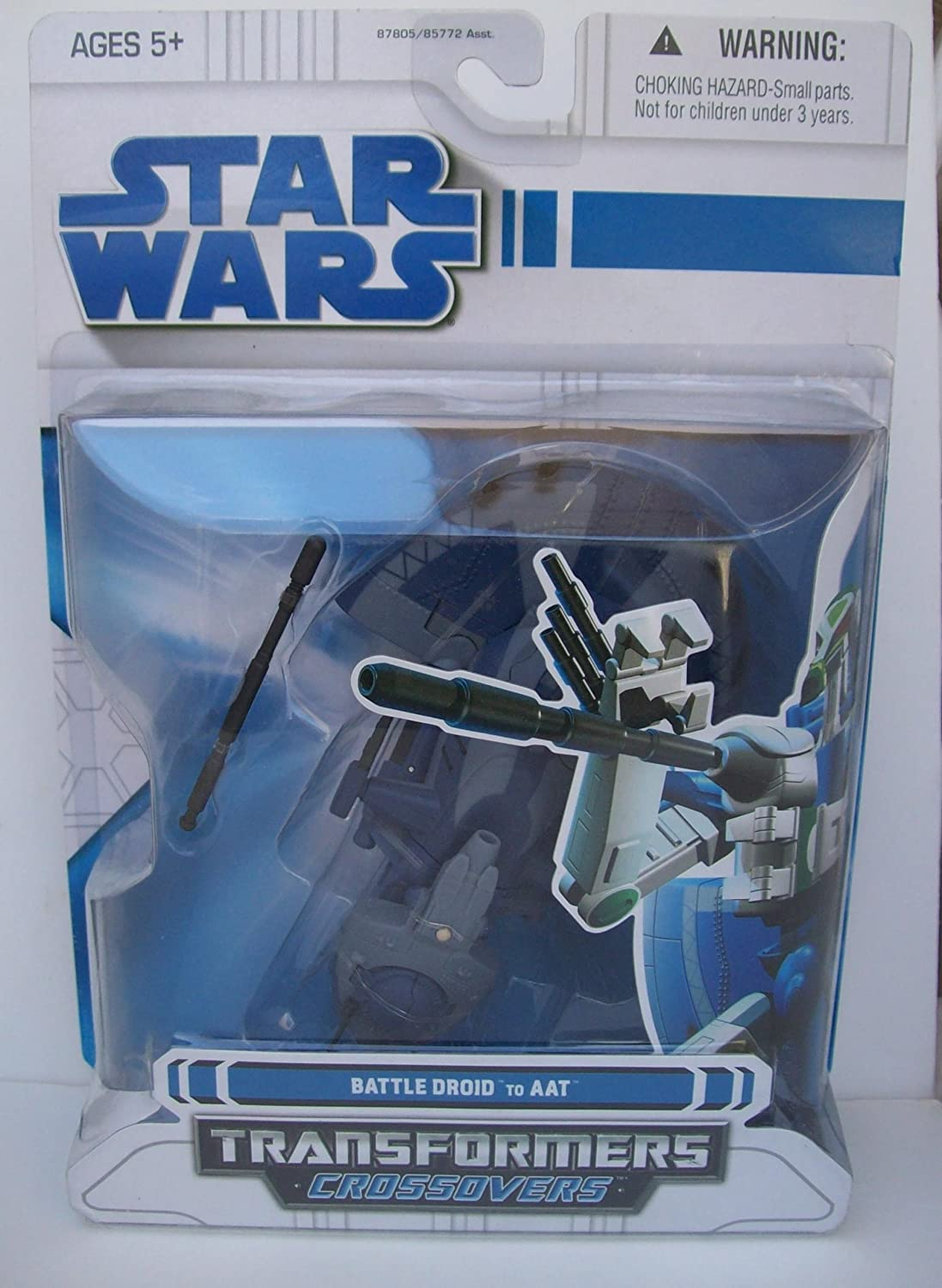 Star Wars - Transformers crotvers - Battle Droid to AAT