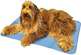 The Green Pet Shop Dog Cooling Mat – Pressure-Activated Gel Cooling Mat For Dogs..