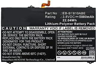 Synergy Digital Synergy Digital Battery Compatible Samsung Galaxy Tab S2 9.7 WiFi 32GB Tablet Battery (Li-Pol, 3.8V, 5800 ...