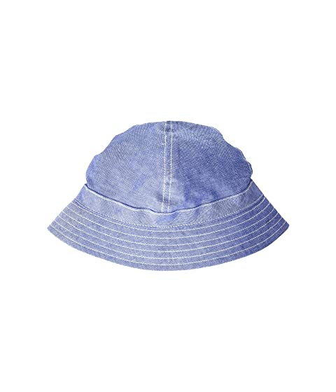 8d44f8abc5a Janie and Jack Chambray Bucket Hat (Toddler Little Kids Big Kids) at ...