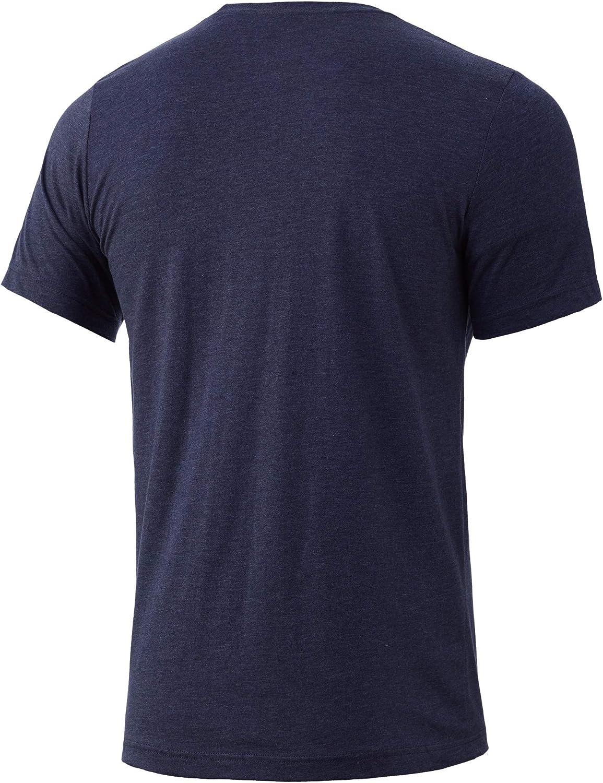 Quick-Dry HUK Mens Performance Fishing Logo Tee Short Sleeve