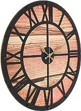Metal Wall Clock, Analog, Battery AA