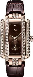 JBW Mink Brown Dial Leather Band Watch - J6358L-B