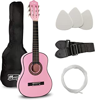 Best Music Alley 6 String Size 30inch Junior Classical Guitar (Pink), (MA-51) Review