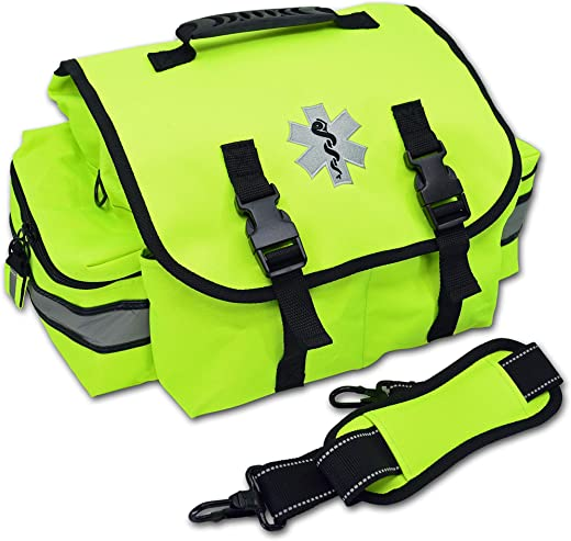 Lightning X Small EMT Medic First Responder Trauma EMS Jump Bag w/Dividers
