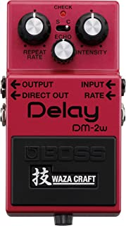 Boss DM-2W Delay Waza Craft Guitar Effects Pedal