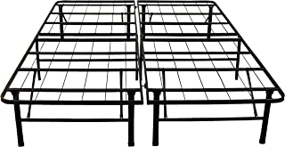 Classic Brands Hercules Black Heavy Duty Metal 14-Inch Platform Mattress Foundation Bed..