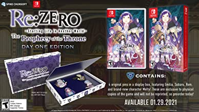 Re:ZERO – The Prophecy of the Throne Day One Edition – Nintendo Switch
