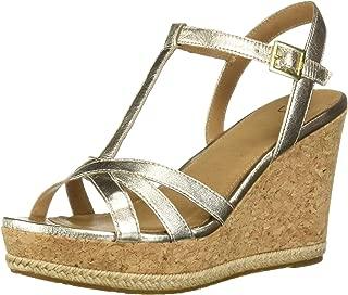 UGG Women's Melissa Metallic Wedge Sandal