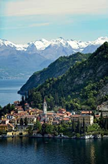 Aerial View of Lake Como Italy Wallpaper Wall Mural - Self-Adhesive - Multiple Sizes - National Geographic Image from Magic Murals