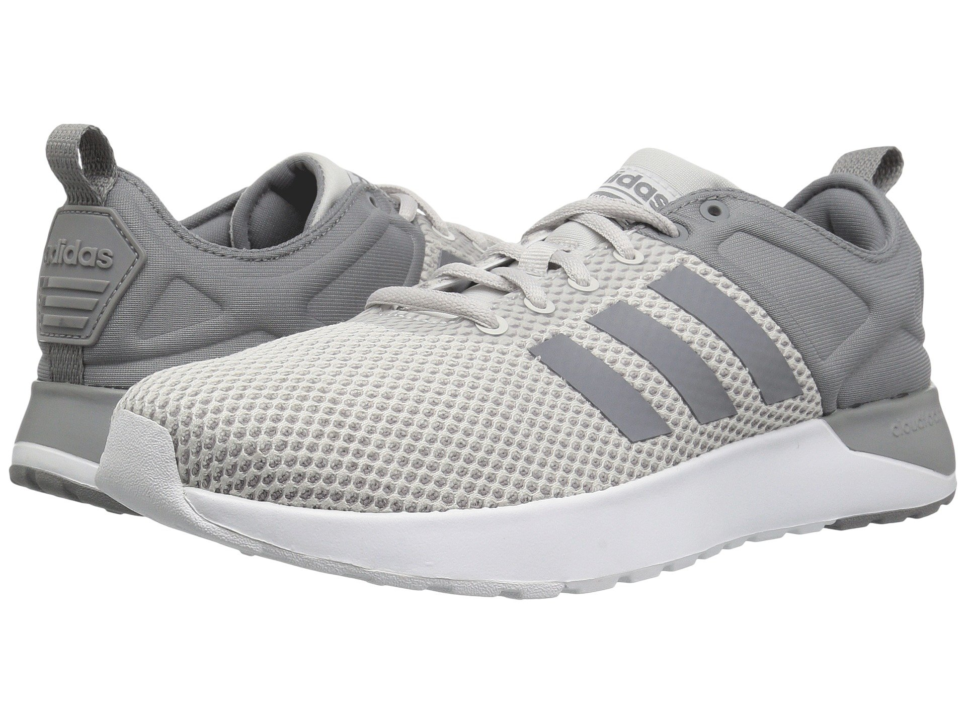 cf67b19520aa08 Adidas Originals Cloudfoam Super Racer In Grey One Grey Three Footwear White