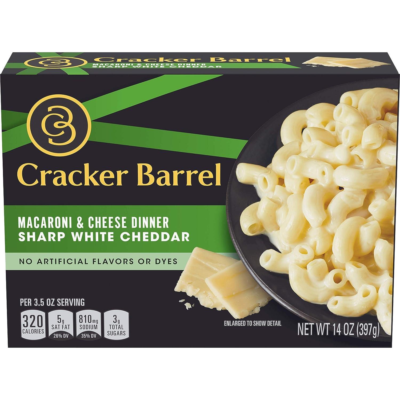 Cracker Barrel Sharp White Cheddar gift and Cheese Spasm price 1 Dinner Macaroni