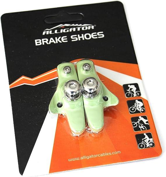 1 or 2 pairs Alligator Bicycle Road brake shoes pads fit Shimano 105 Ultegra