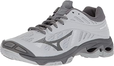 Mizuno Wave Lightning Z4 Volleyball Shoes, Grey, Women's 7.5 B US