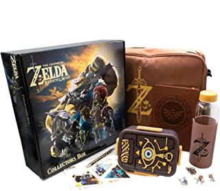 CultureFly The Legend of Zelda: Breath of The Wild Collector's Box | Includes 7 Exclusive Items