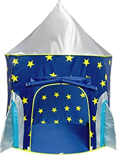 USA Toyz Play Tent for Boys or Girls – Rocket Ship Kids Tent, Astronaut Space Tents w/..