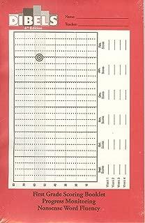 Dibels 6th Edition First Grade Scoring Booklet Progress Monitoring Oral Reading Fluency ISBN 9781570358883, 1570358885