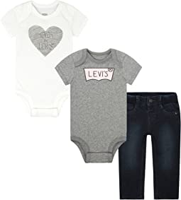 Levi's® Kids - Three-Piece Mega Box Set (Infant)
