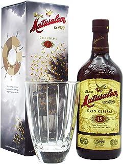 Matusalem - Glass Gift Pack & 15 Gran Reserva - Whisky