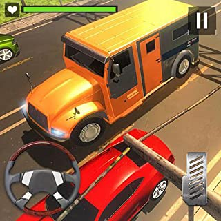 USA Bank Cashier Manager Transporter Truck 3D: Driving Simulator Adventure & Parking Mania Simulation Game 2018