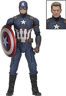 NECA - Captain America: Civil War - ¼ Scale Figure - Captain America