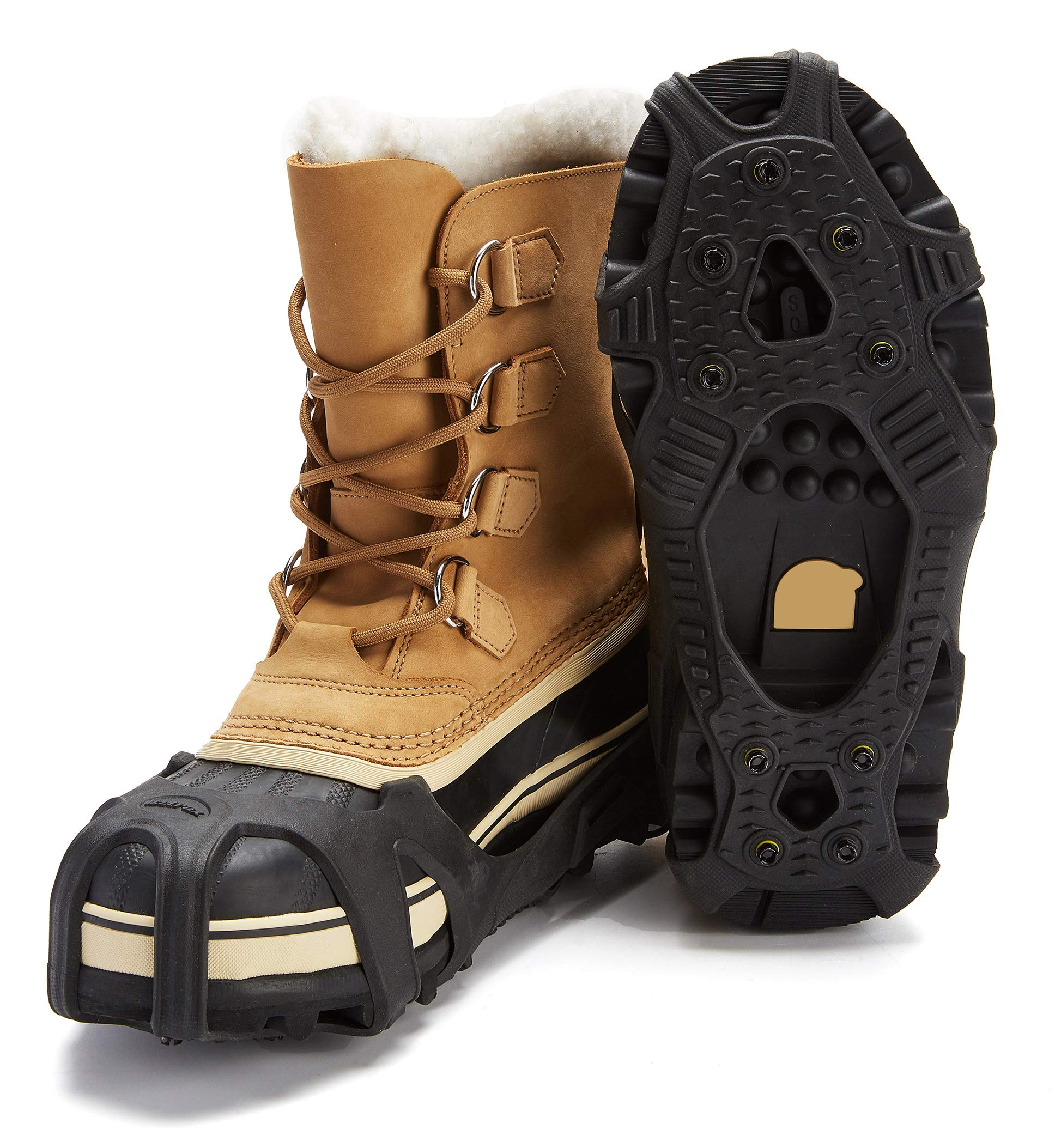 ICETRAX Pro Winter Ice Grips for Shoes
