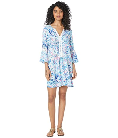 Lilly Pulitzer Hollie Tunic Dress (Breakwater Tint Party Wave) Women