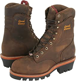 "Chippewa 9"" Waterproof Insulated Super Logger"
