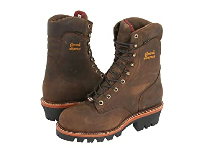 Chippewa 9 Waterproof Insulated Super Logger (Bay Apache) Men