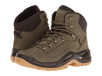 Lowa Renegade GTX Mid (Forest/Dark Brown) Men
