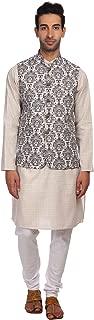 linen printed kurta pyjamas