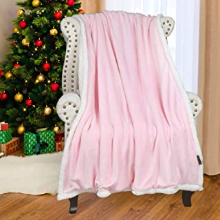 Best pink fluffy bed throw Reviews