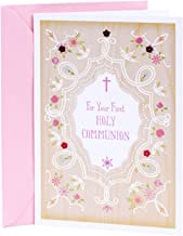 DaySpring Holy Communion Card for Girls (You're Wished Every Grace and Blessing)