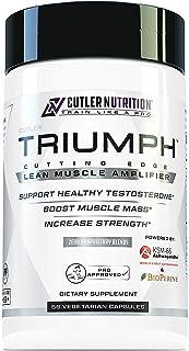 Triumph Testosterone Booster for Men: Best Test Booster and Estrogen Blocker for Men with DIM, KSM 66 Ashwagandha, and Bor...