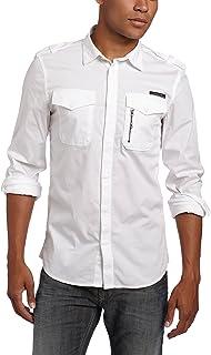 Diesel Men's Siranella-S Poplin Button-Down Shirt, White