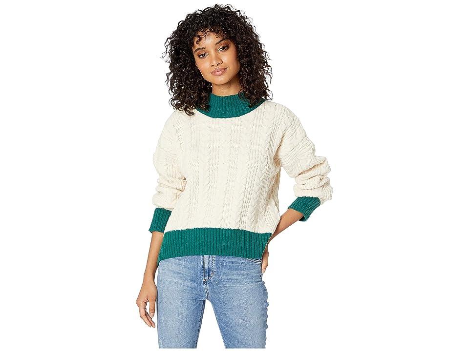 J.O.A. - J.O.A. Cable Knit Sweater